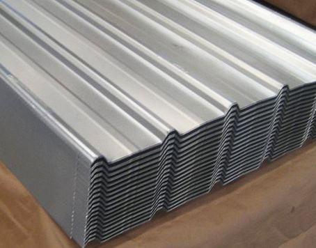 galvanized steel metal roof