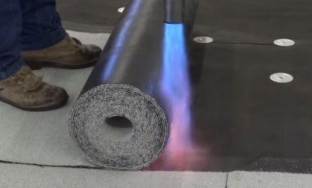 torch down roofing underlayment