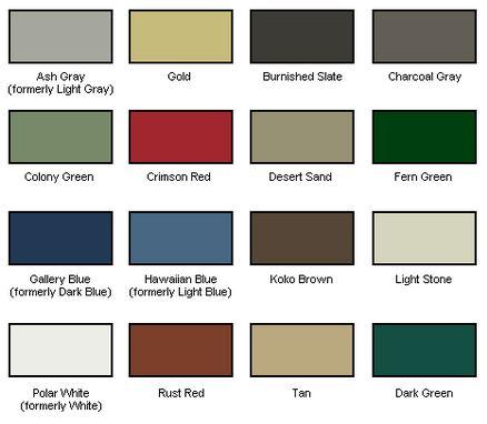 Burnished Slate Color Code