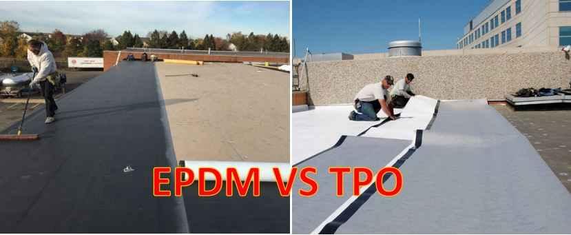 TPO roofing vs EPDM