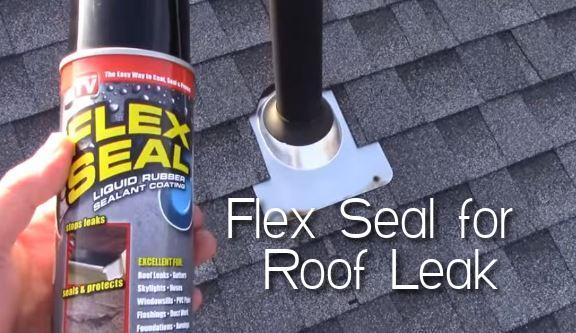 Flex Seal for Roof Leak
