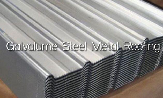 Galvalume Steel Metal Roofing