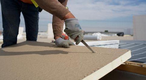 Insulating metal roofing Rigid Board