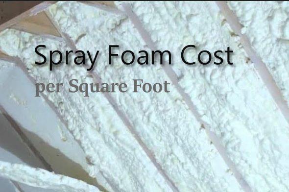 Spray Foam cost