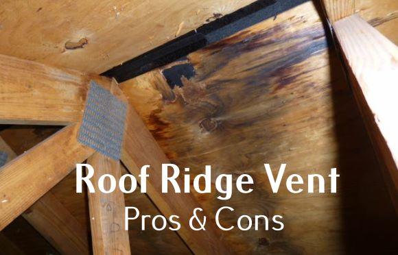 Roof Ridge Vent Problems
