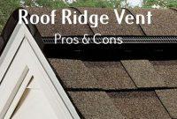 Roof Ridge Vent Pros Cons