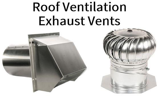 Roof Ventilation Exhaust vents