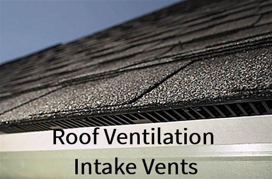 Roof Ventilation Intake Vents