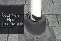 roof vent pipe boot repair